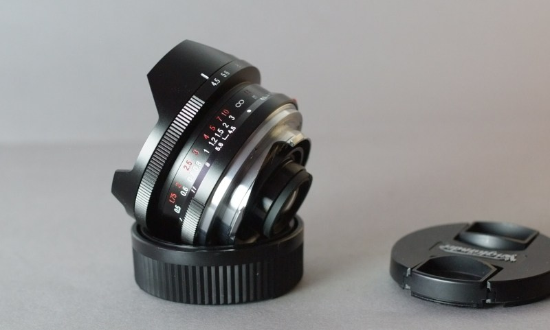 Voigtländer 15mm f/4,5 Super Wide Heliar M-bajonet