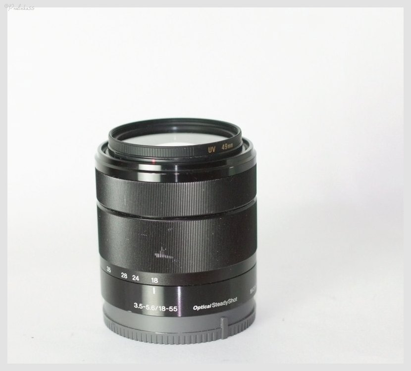 Sony SEL 18-55 mm f/3,5-5,6 pro NEX