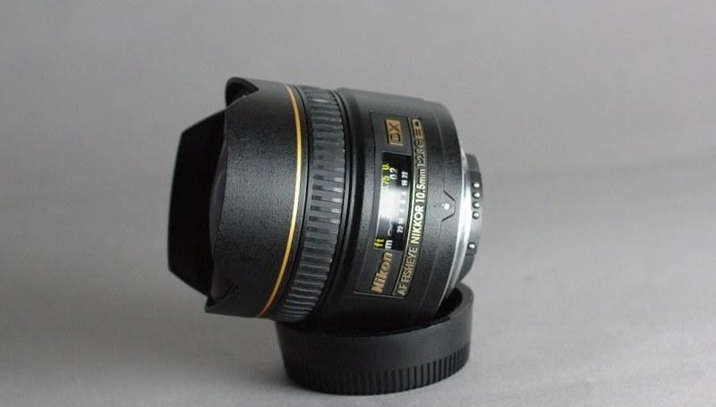 Nikkor 10,5mm f/2.8G AF DX EF-ED