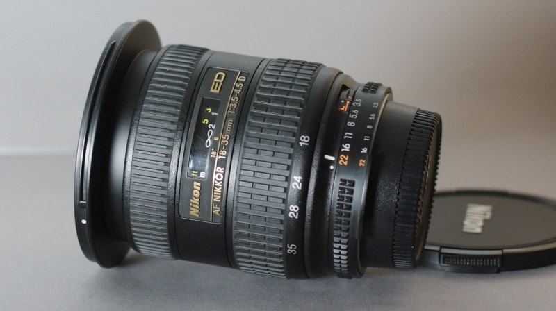 Nikkor 18-35mm f/3,5-4,5 D IF-ED AF TOP STAV