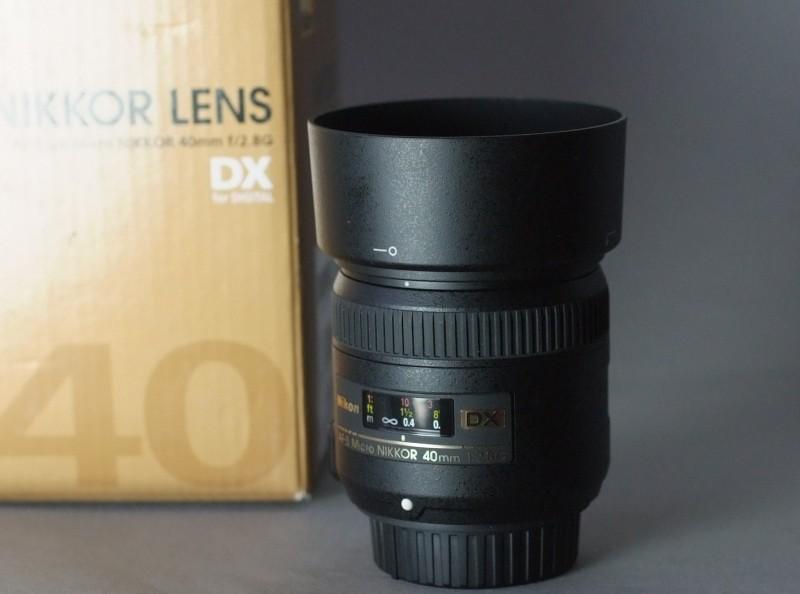 Nikkor 40 mm f/2,8G AF-S DX Micro TOP STAV