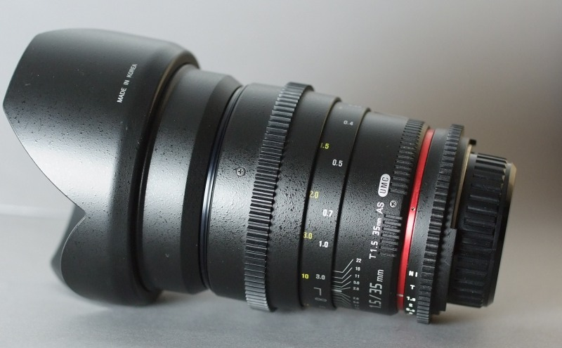 Samyang 35mm T/1,5 VDSLR II pro NIKON