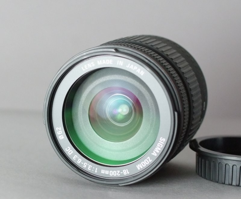 Sigma 18-200 f/3,5-6,3 DC pro CANON