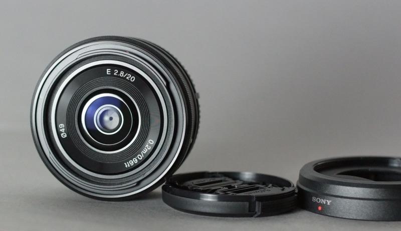 Sony SEL 20mm f/2,8