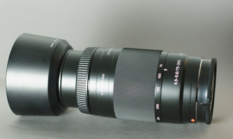 Sony 75-300mm f/4,5-5,6 TOP STAV