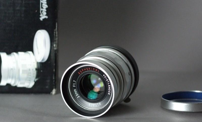 VOIGTLÄNDER Ultron 35mm f/1,7 Aspherical M-bajonet