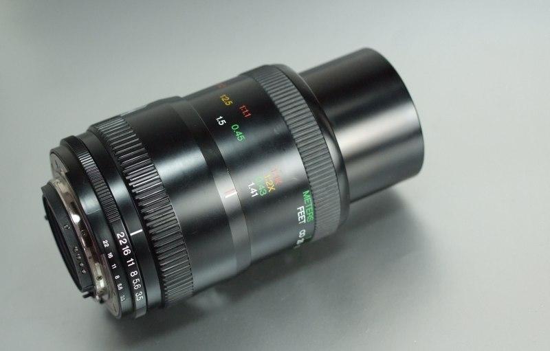 COSINA AF 100mm 3.5 makro 1:2 pro NIKON