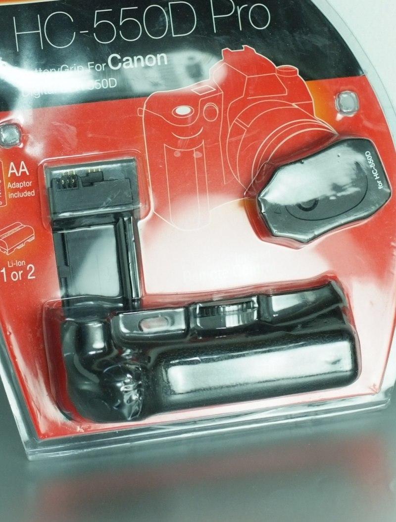Hähnel HC-650D PRO bateriový grip pro Canon 600D