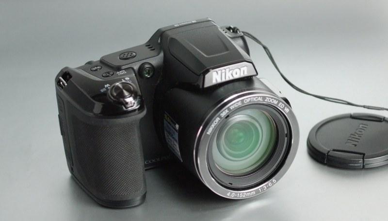 Nikon Coolpix L840 TOP STAV