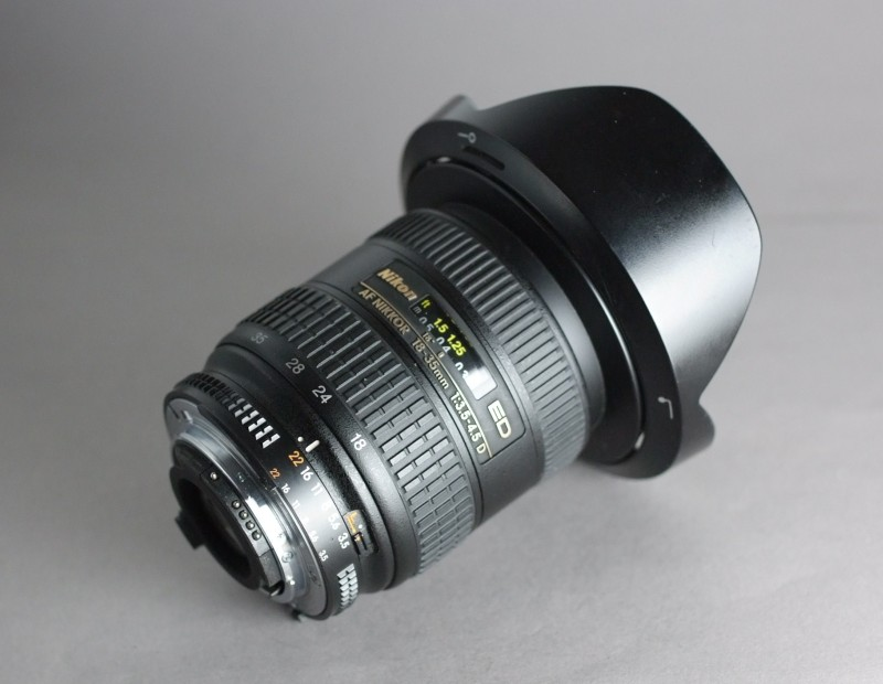 Nikkor 18-35mm f/3,5-4,5 D IF-ED AF SUPER STAV
