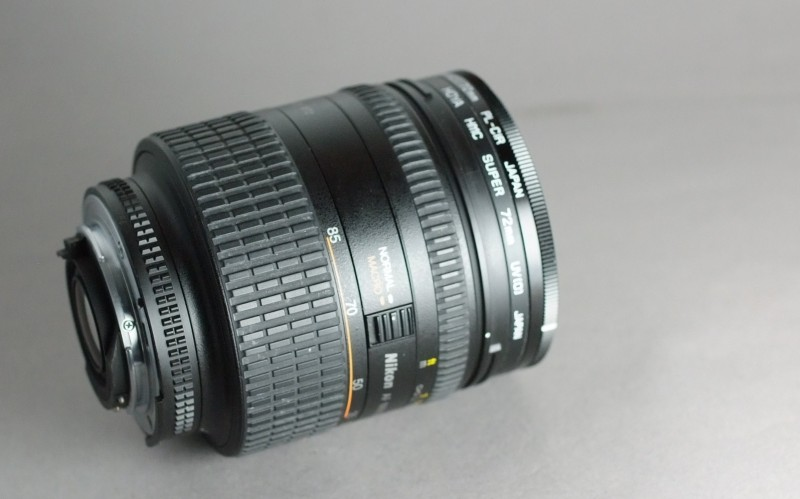 Nikkor AF 24-85mm f/2.8-4 D IF + UV + CPL