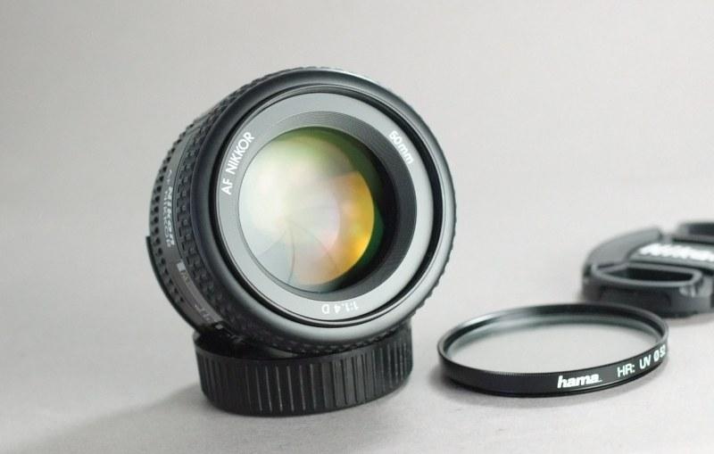 Nikkor 50mm f/1,4  AF D  TOP STAV