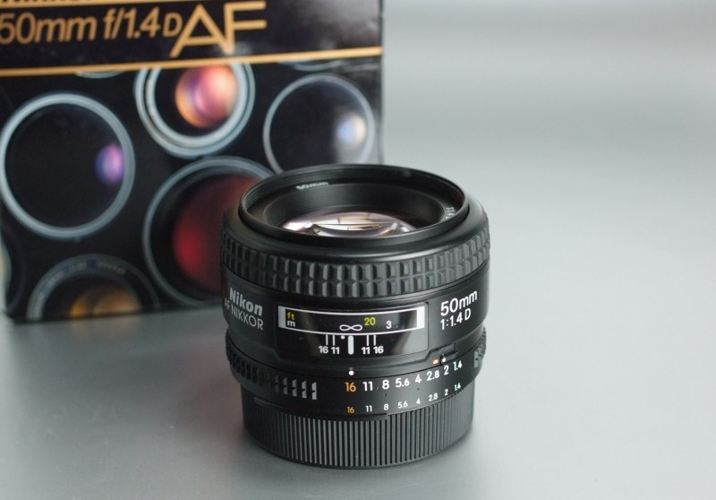 Nikkor 50mm f/1,4  AF D