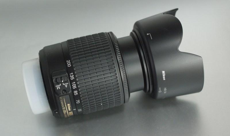 Nikon 55-200mm f/4-5.6G AFS TOP STAV