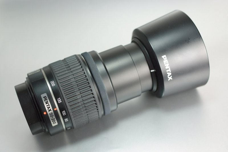 PENTAX smc DA 50-200mm f/4-5.6 ED SUPER STAV