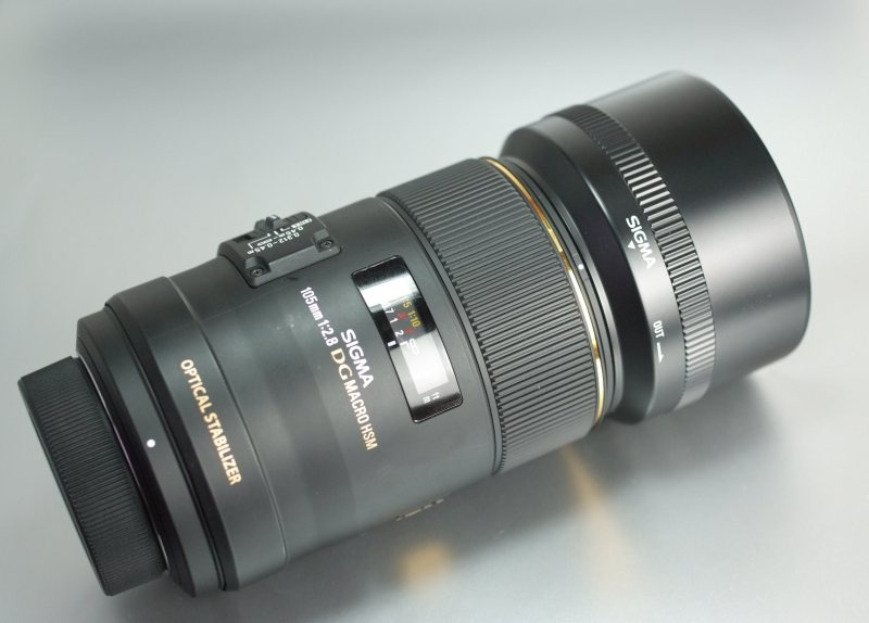 SIGMA 105mm f/2,8 EX DG OS HSM Macro pro Nikon TOP