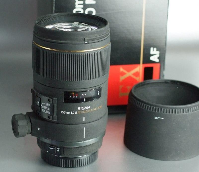 SIGMA 150mm f/2,8 APO EX DG HSM Macro pro CANON