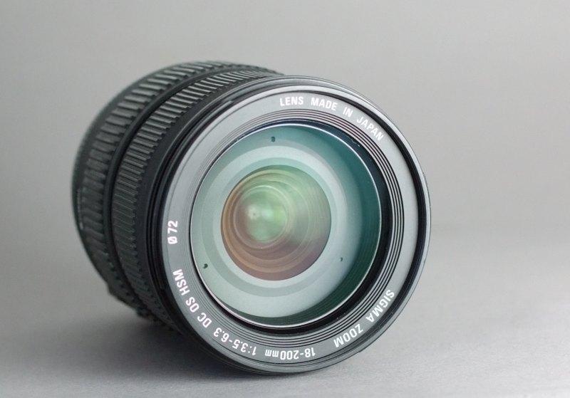 Sigma 18-200mm F3,5-6,3 DC OS pro NIKON