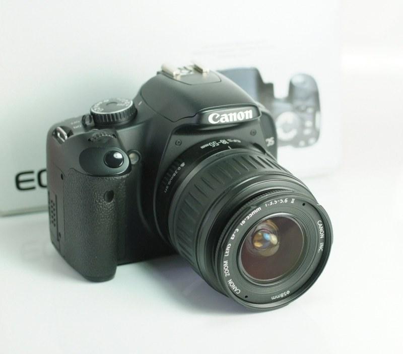 Canon EOS 450D + Canon 18-55mm SUPER STAV