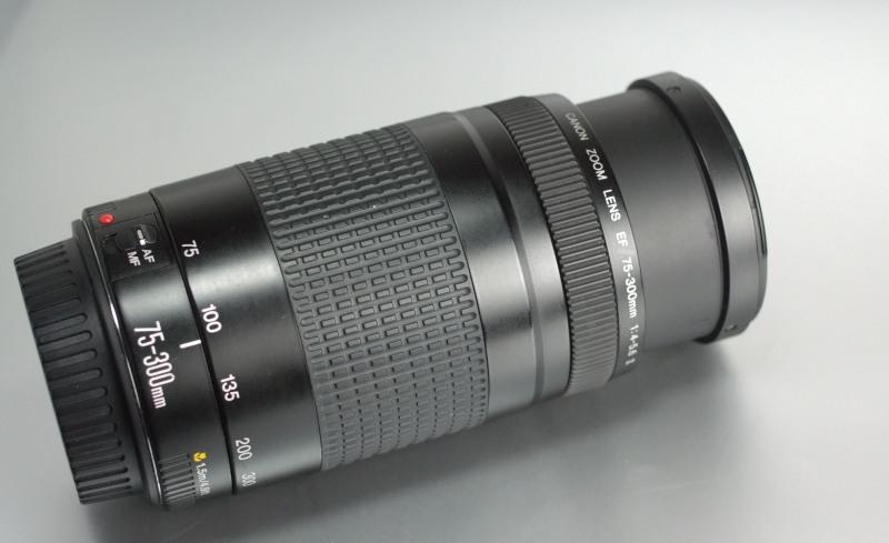 Canon 75-300mm EF f/4-5,6 II