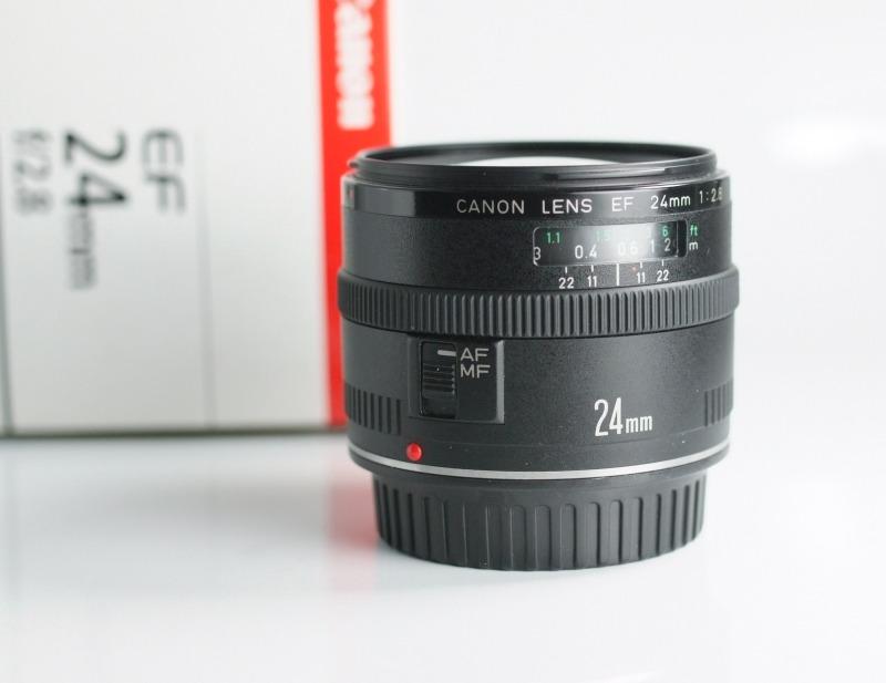 Canon EF 24mm f/2.8 TOP STAV