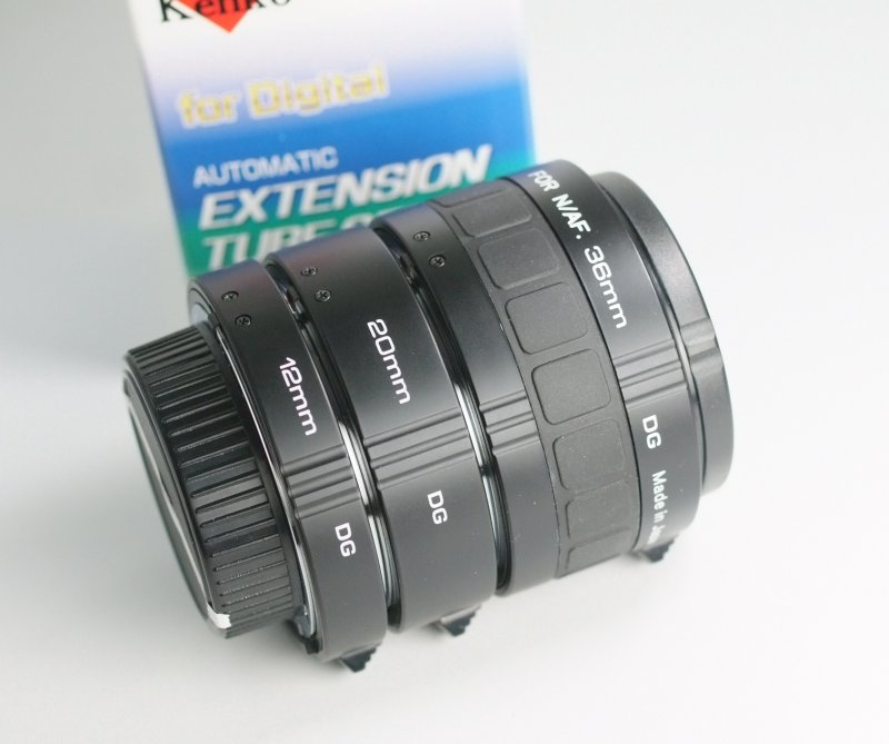 KENKO Mezikroužky set 12/20/36 mm pro Nikon TOP STAV