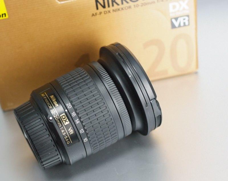 NIKON 10-20 mm f/4,5-5,6G VR AF-P DX