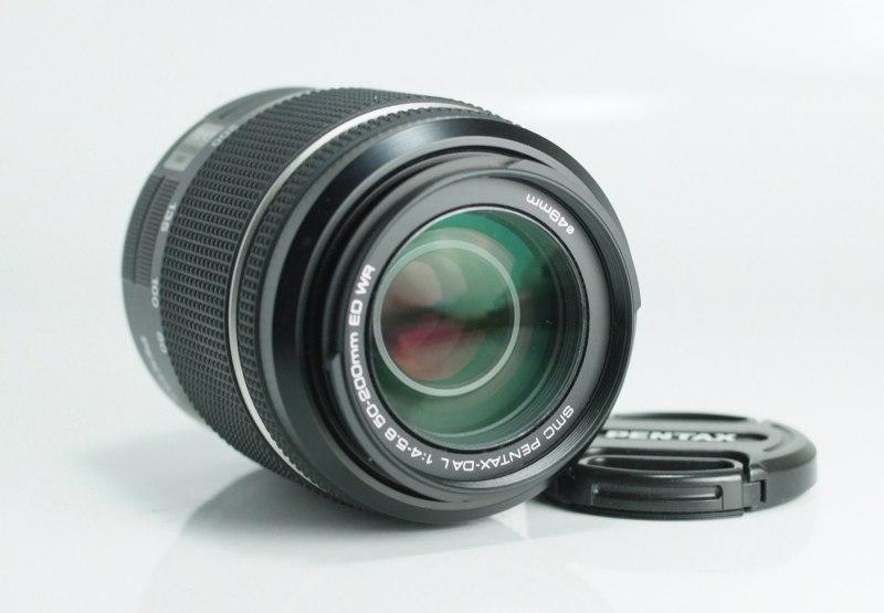 PENTAX 50-200 mm f/4-5,6 DA ED WR TOP STAV