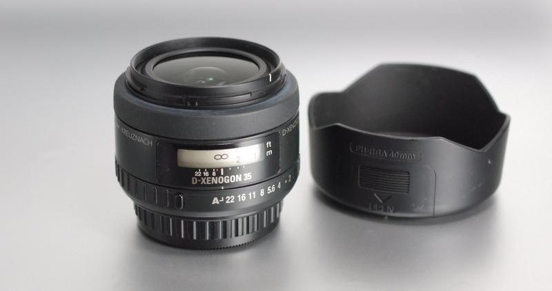 Pentax - Samsung SMC FA 35mm f/2,0 AL SUPER  STAV