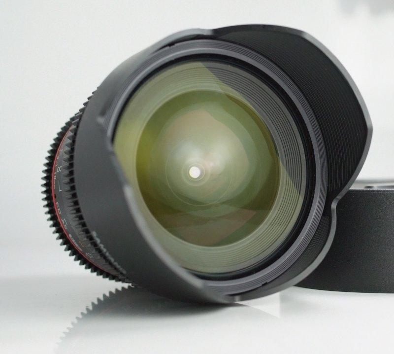 Samyang CINE 10mm T/3,1 VDSLR ED AS NCS CS II pro Nikon TOP