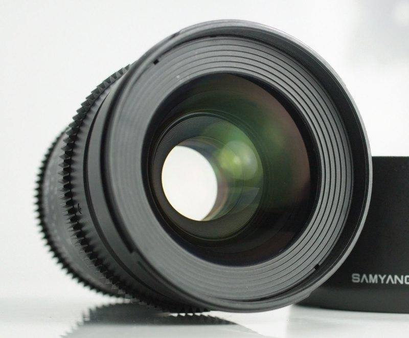 Samyang CINE 35mm T/1,5 VDSLR  pro Nikon TOP
