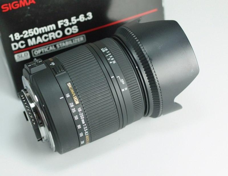 Sigma 18-250mm f/3,5-6,3 DC OS HSM pro Nikon TOP STAV