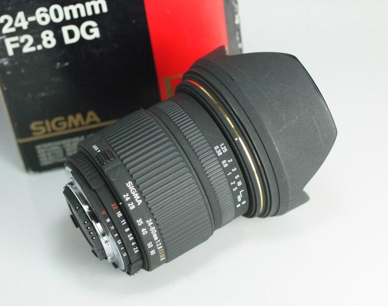 Sigma 24-60 mm F 2,8 EX DG IF pro Nikon SUPER  STAV