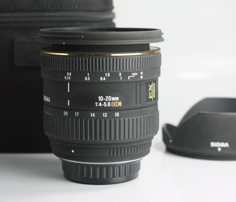 Sigma 10-20/4-5.6 EX DC pro PENTAX