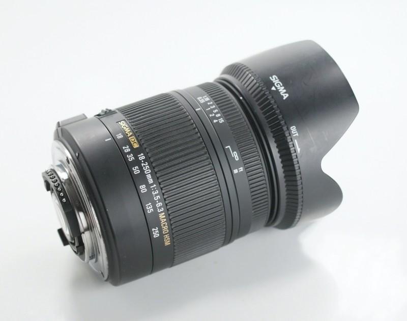 SIGMA 18-250 mm f/3,5-6,3 DC OS HSM pro Nikon
