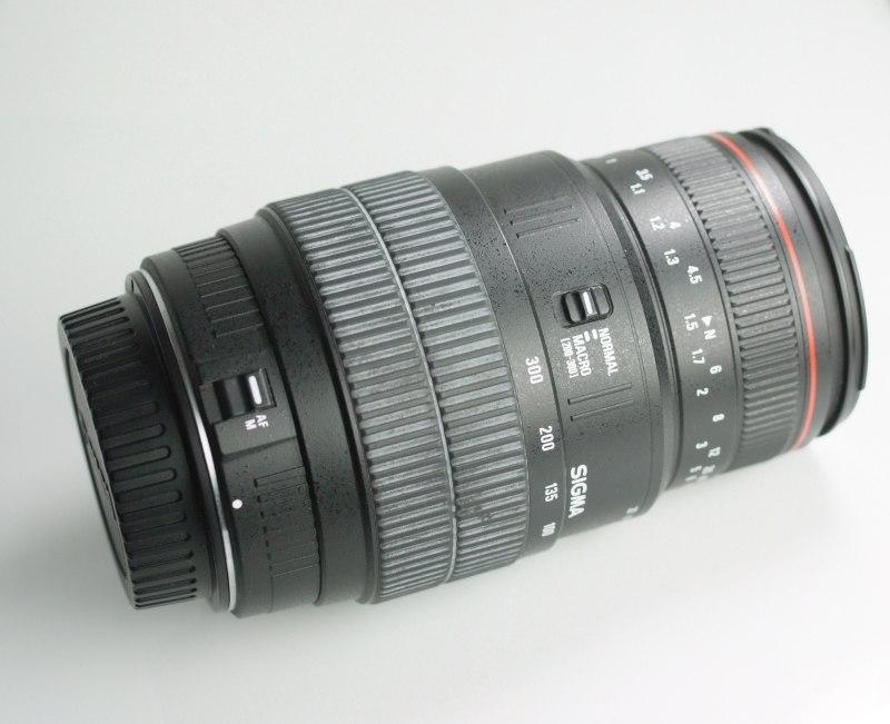 Sigma 70-300/4-5.6 APO  MACRO pro CANON
