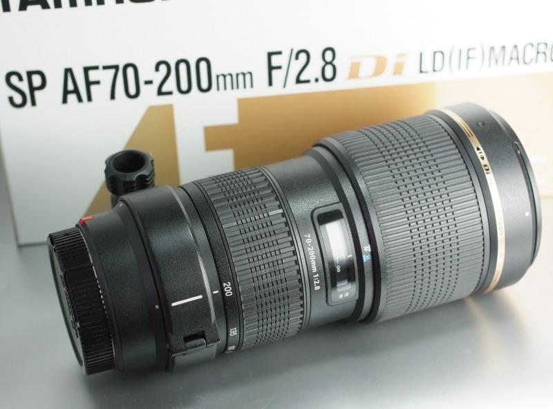 TAMRON 70-200 mm f/2,8 SP Di LD Macro pro Sony