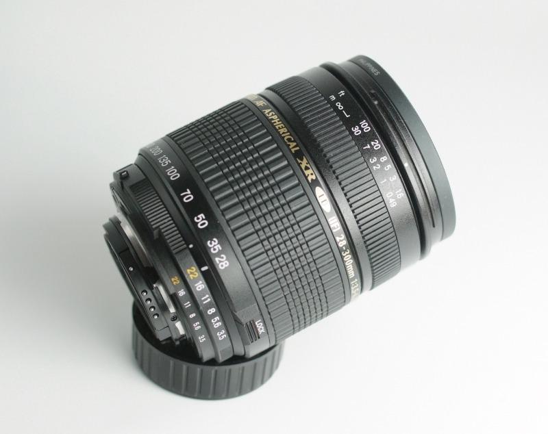 TAMRON AF 28-300mm F/3.5-6.3 Di pro Nikon