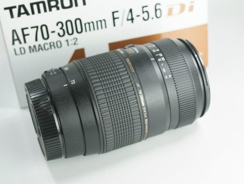 TAMRON 70-300 mm f/4-5,6 Di LD pro Canon TOP