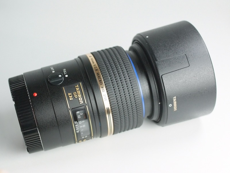 TAMRON 90 mm f/2,8 SP Di Macro pro Canon TOP
