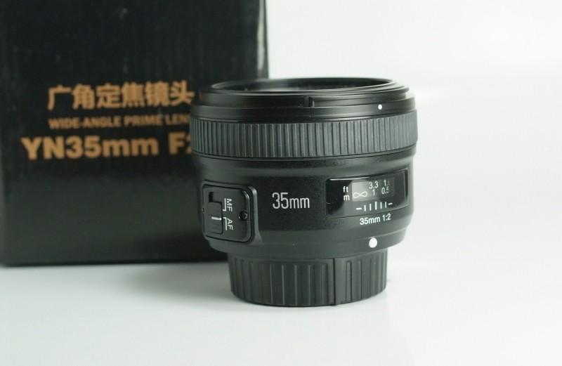 Yongnuo 35mm f/2 pro NIKON TOP STAV