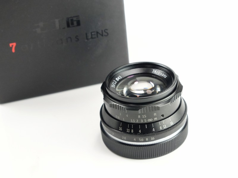 7Artisans 35mm f/1,2 pro Sony E