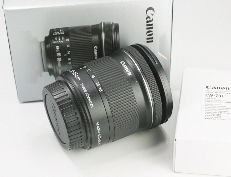Canon EF-S 10-18mm 4.5-5.6 IS STM TOP STAV