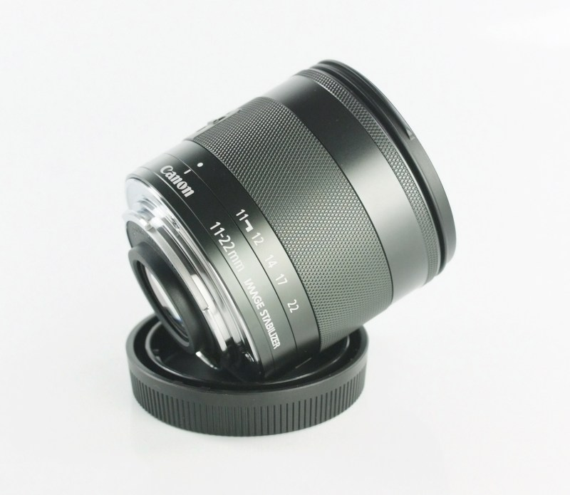 CANON EF-M 11-22 mm f/4-5,6 IS STM TOP STAV