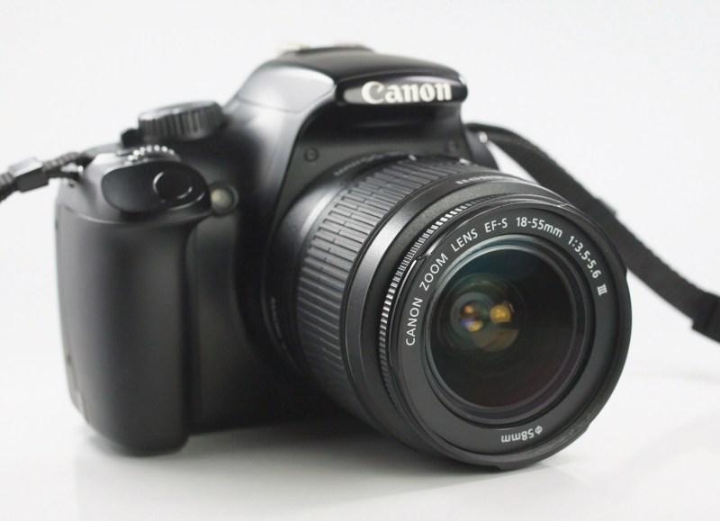 Canon EOS 1100D + Canon 18-55mm III