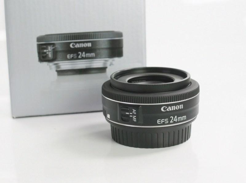CANON EF-S 24 mm f/2,8 STM TOP STAV záruka 8/2019
