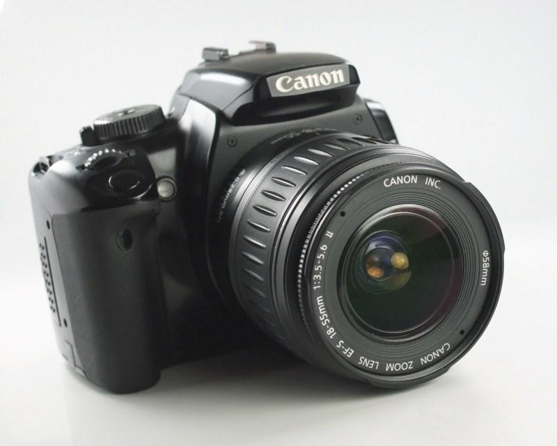 Canon EOS 400D + 18-55mm SUPER STAV
