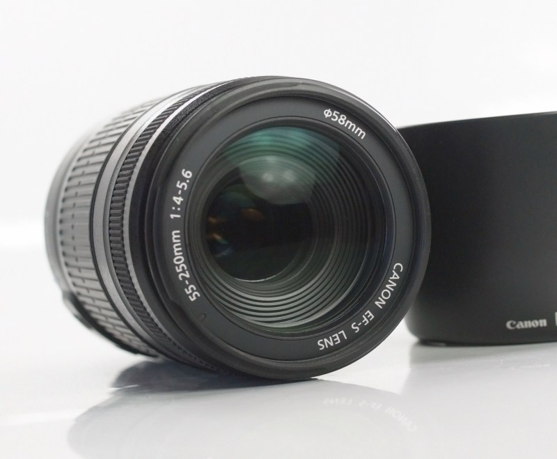 Canon EF-S 55-250mm f/4-5,6 IS TOP STAV