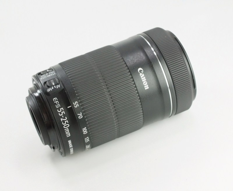 CANON EF-S 55-250 mm f/4,0-5,6 IS STM TOP  STAV