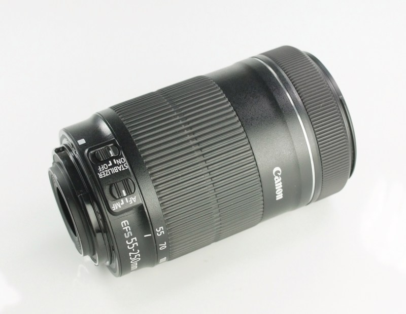 CANON EF-S 55-250 mm f/4,0-5,6 IS STM SUPER STAV